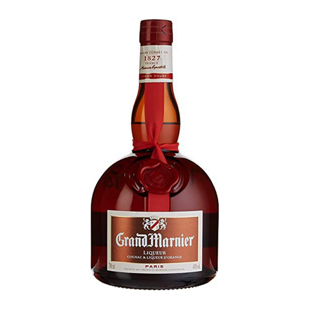 Licor - Triple Sec - Grand Marnier Vermelho-700 ml  - DRUNK DOG DELIVERY