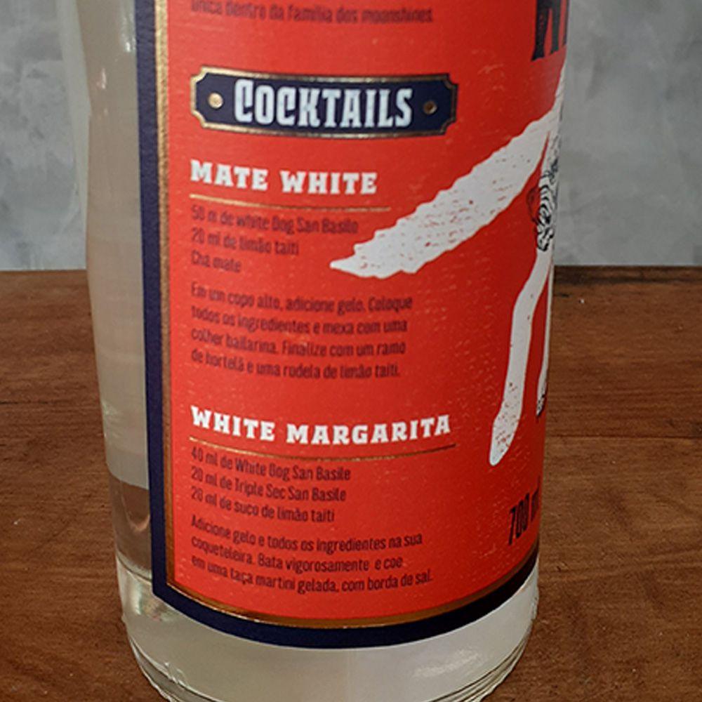 Whisky White Dog - Moonshine - San Basile - 700 ml  - DRUNK DOG DELIVERY