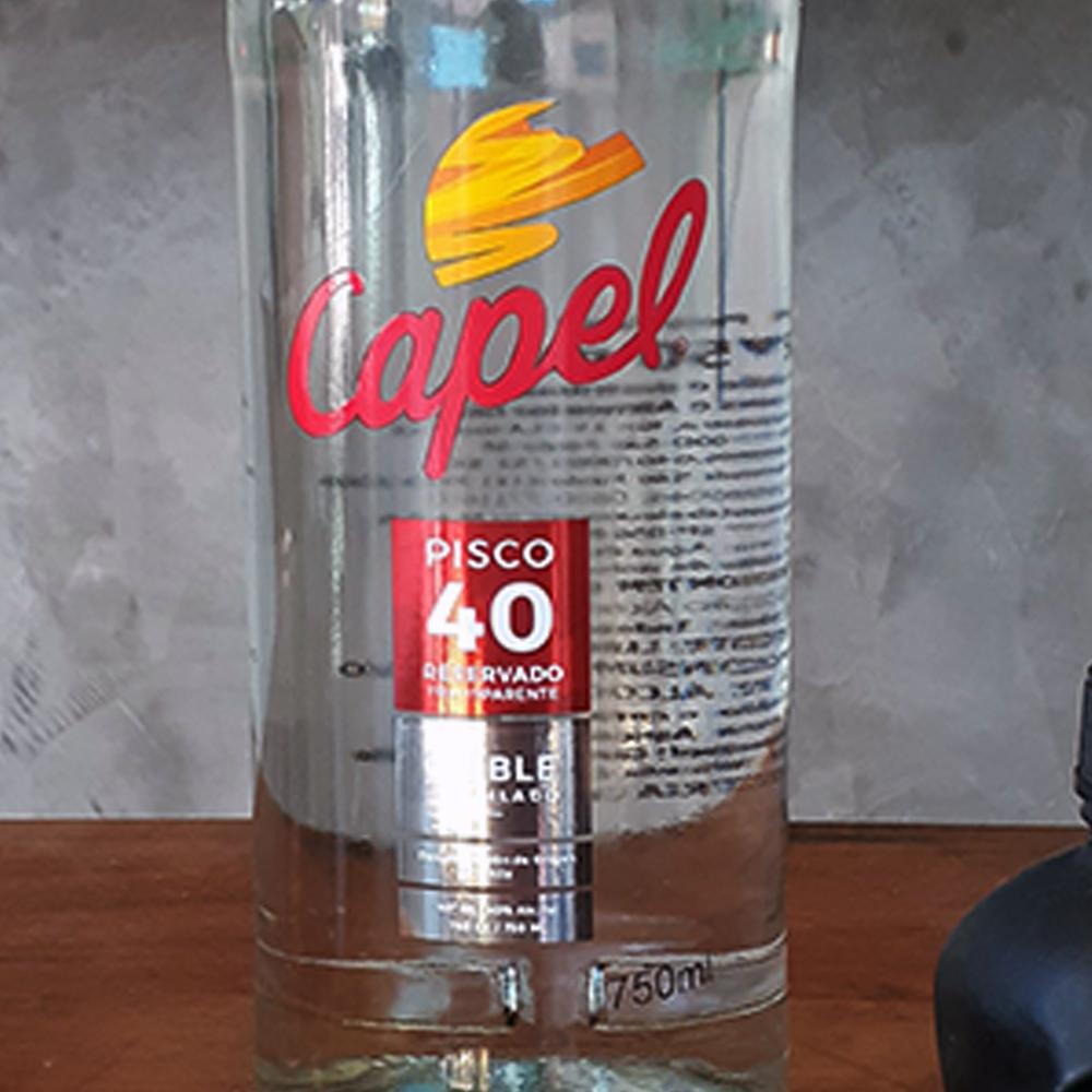 Pisco - Capel - Reservado - 750 ml  - DRUNK DOG DELIVERY