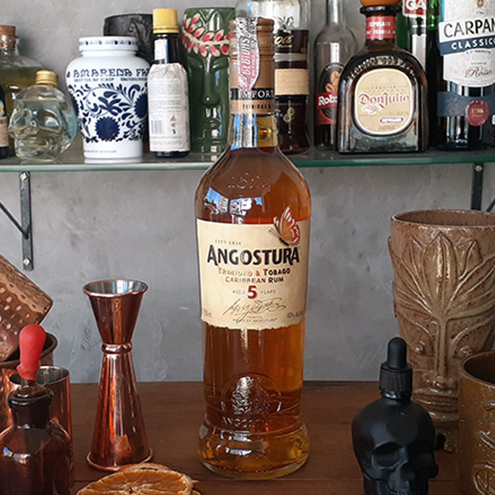 Rum - Angostura - Anejo Gold 5 anos - 750 ml  - DRUNK DOG DELIVERY