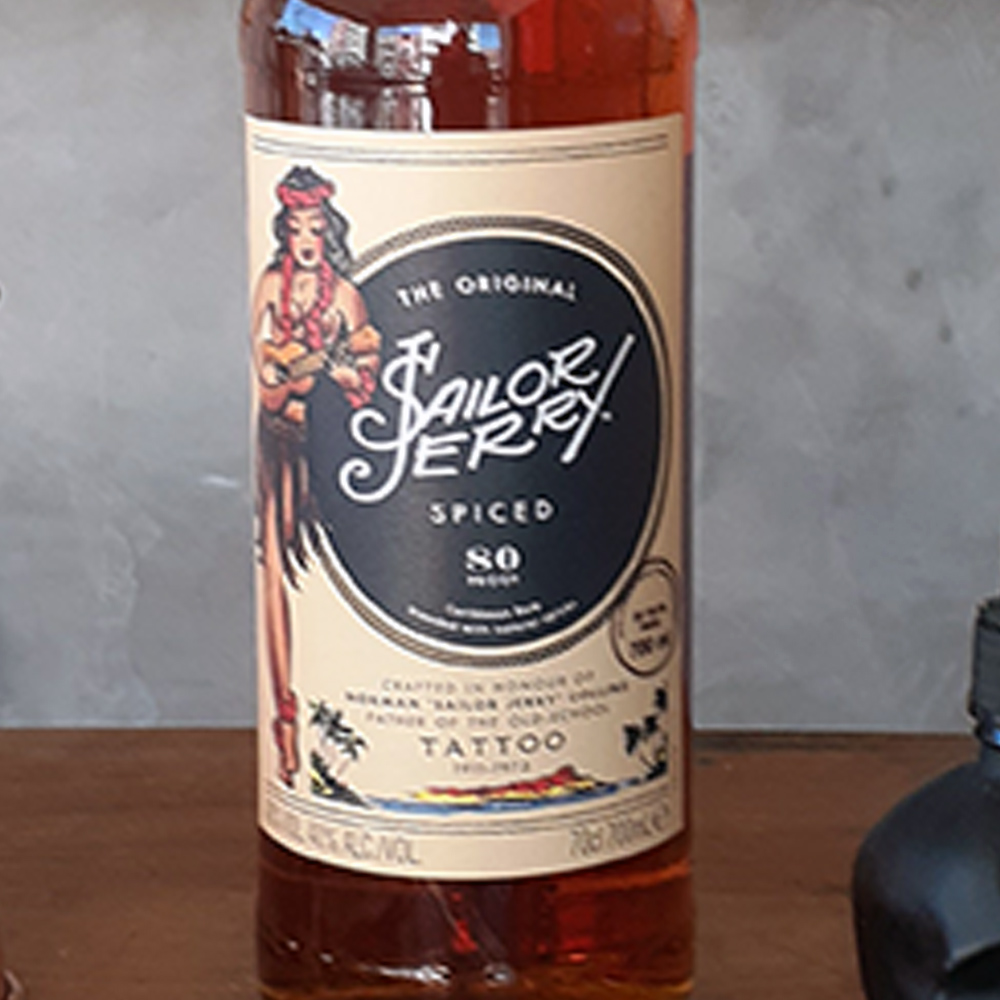 Rum - Sailor Jerry - Spiced Rum - 700 ml  - DRUNK DOG DELIVERY