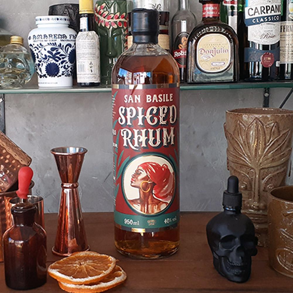 Rum - San Basile - Spiced Rum - 750 ml  - DRUNK DOG DELIVERY