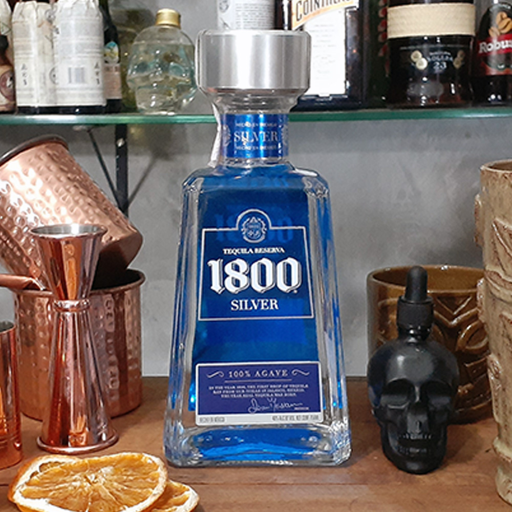 Tequila - 1800 - Silver - 750 ml  - DRUNK DOG DELIVERY