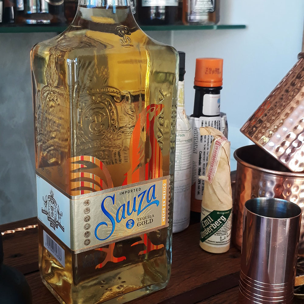 Tequila - Sauza - Ouro - 750 ml  - DRUNK DOG DELIVERY
