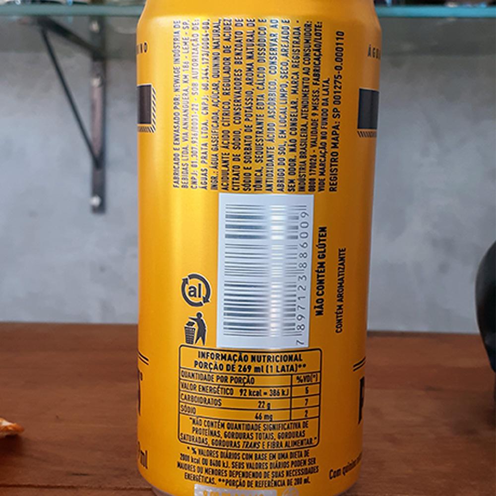 Tônica - Prata - 01 und X 269 ml  - DRUNK DOG DELIVERY