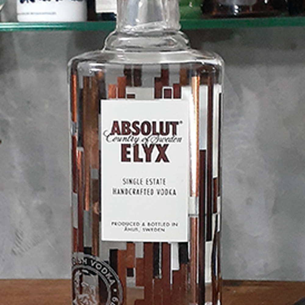 Vodca - Absolut - Elix - 75O ml  - DRUNK DOG DELIVERY