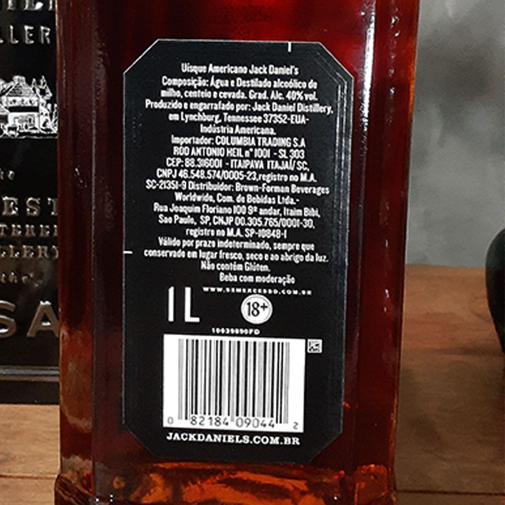 Whiskey Jack Daniels Tradicional - 1.000 ml  - DRUNK DOG DELIVERY
