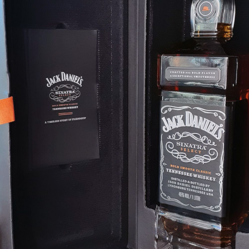 Whiskey Jack Daniels Sinatra - Especial Edition - 1.000 ml  - DRUNK DOG DELIVERY