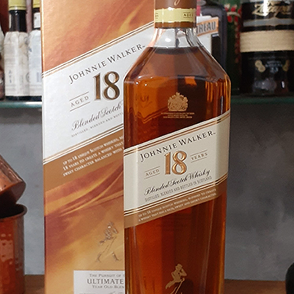 Whisky - Johnnie .W - Ultimate - 18 anos - 750 ml  - DRUNK DOG DELIVERY