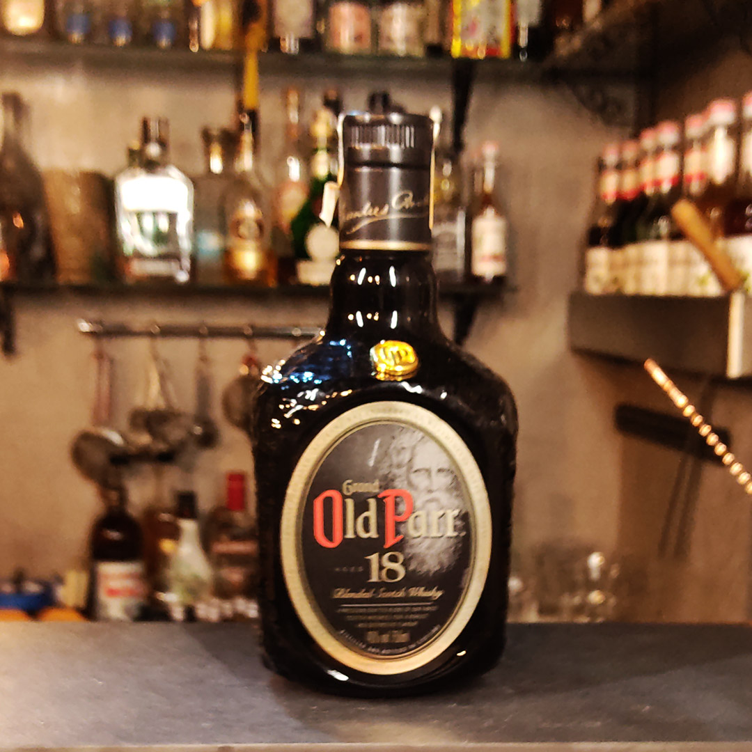 Whisky - Old Parr - 18 anos - 750 ml  - DRUNK DOG DELIVERY
