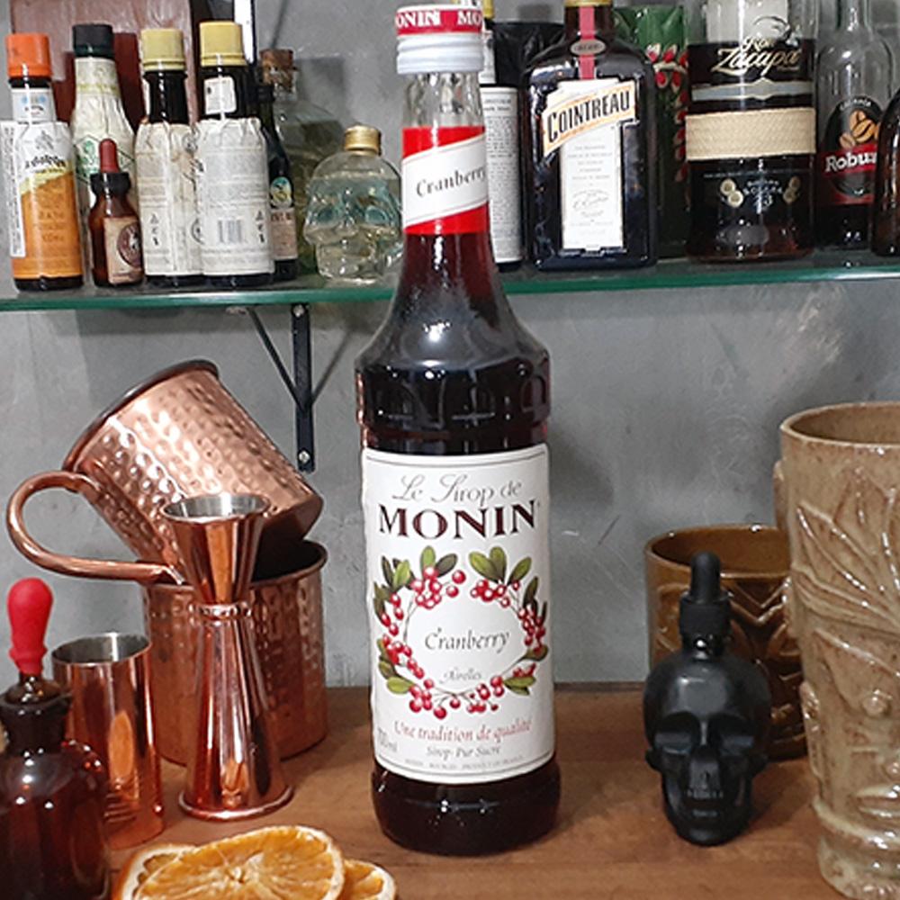 Xarope - Monin - Cramberry - 700 ml  - DRUNK DOG DELIVERY