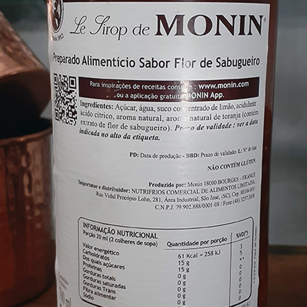 Xarope - Monin - Enderflower - 700 ml  - DRUNK DOG DELIVERY