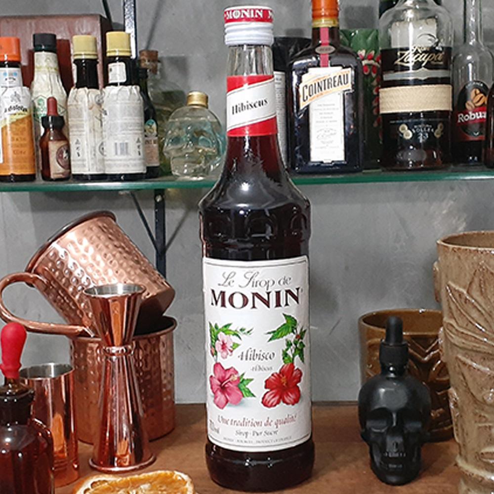 Xarope - Monin - Hibisco - 700 ml  - DRUNK DOG DELIVERY