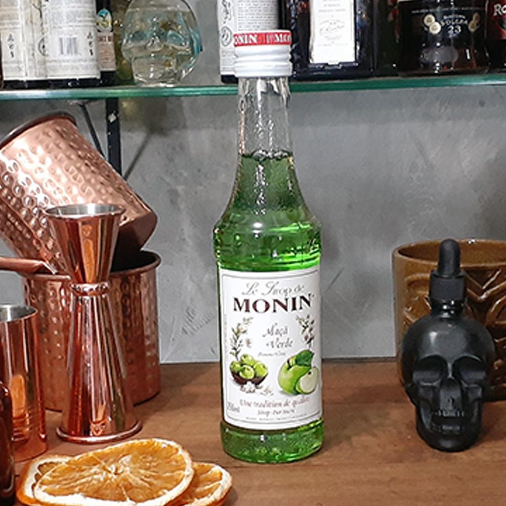 Xarope - Monin - Maçã Verde - 250 ml  - DRUNK DOG DELIVERY