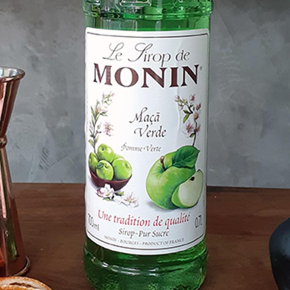 Xarope - Monin - Maçã Verde - 700 ml  - DRUNK DOG DELIVERY