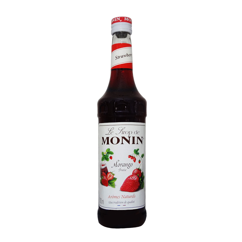 Xarope - Monin - Morango - 700 ml  - DRUNK DOG DELIVERY