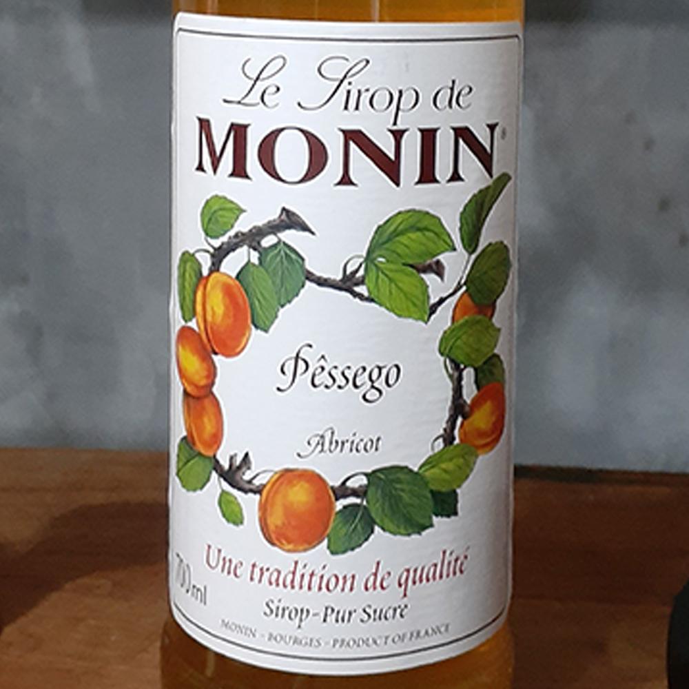 Xarope - Monin - Pêssego - 700 ml  - DRUNK DOG DELIVERY