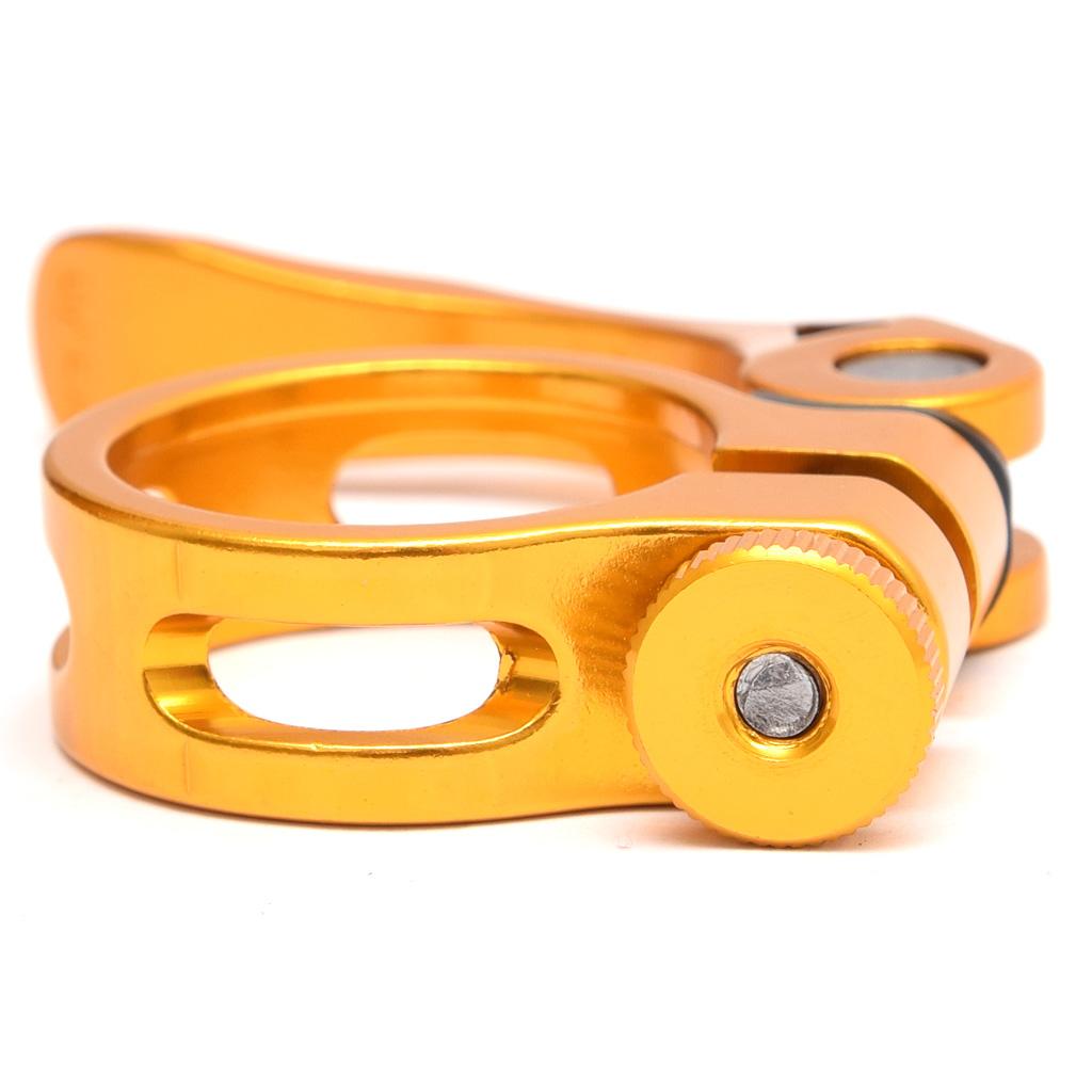 Abraçadeira Canote Kapa 31.8mm P/Canote 27,2mm Dourada