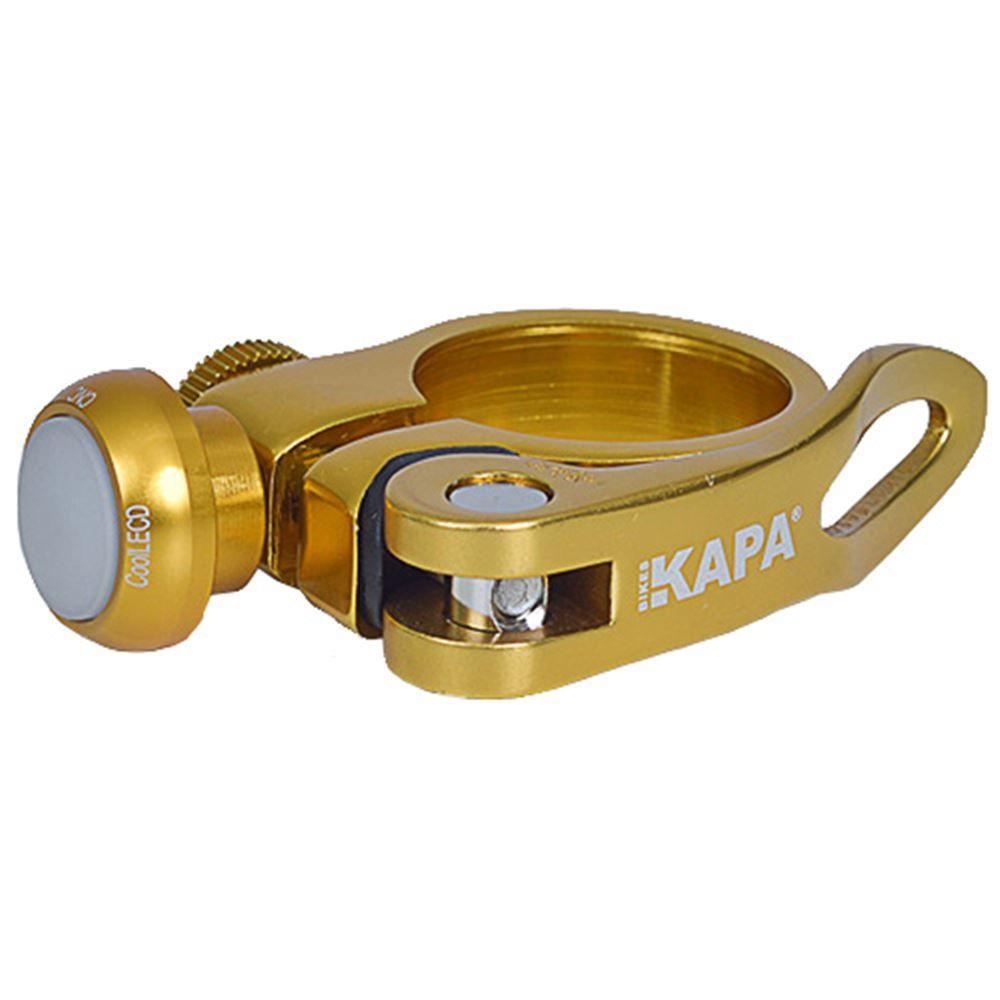 Abraçadeira Selim Kapa 31,8 Mm Dourada Sinalizador Led