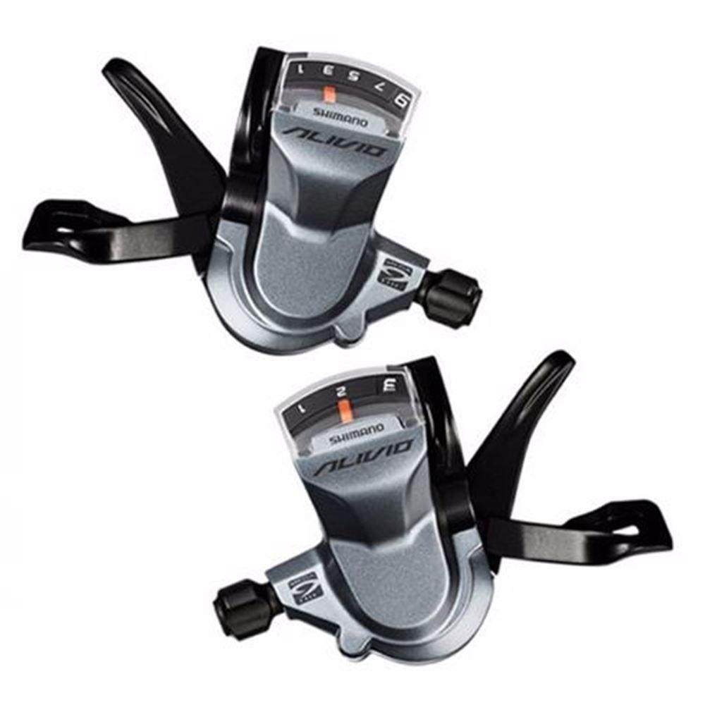 Alavanca Cambio Shimano Alivio M4000 De 27 Velocidades