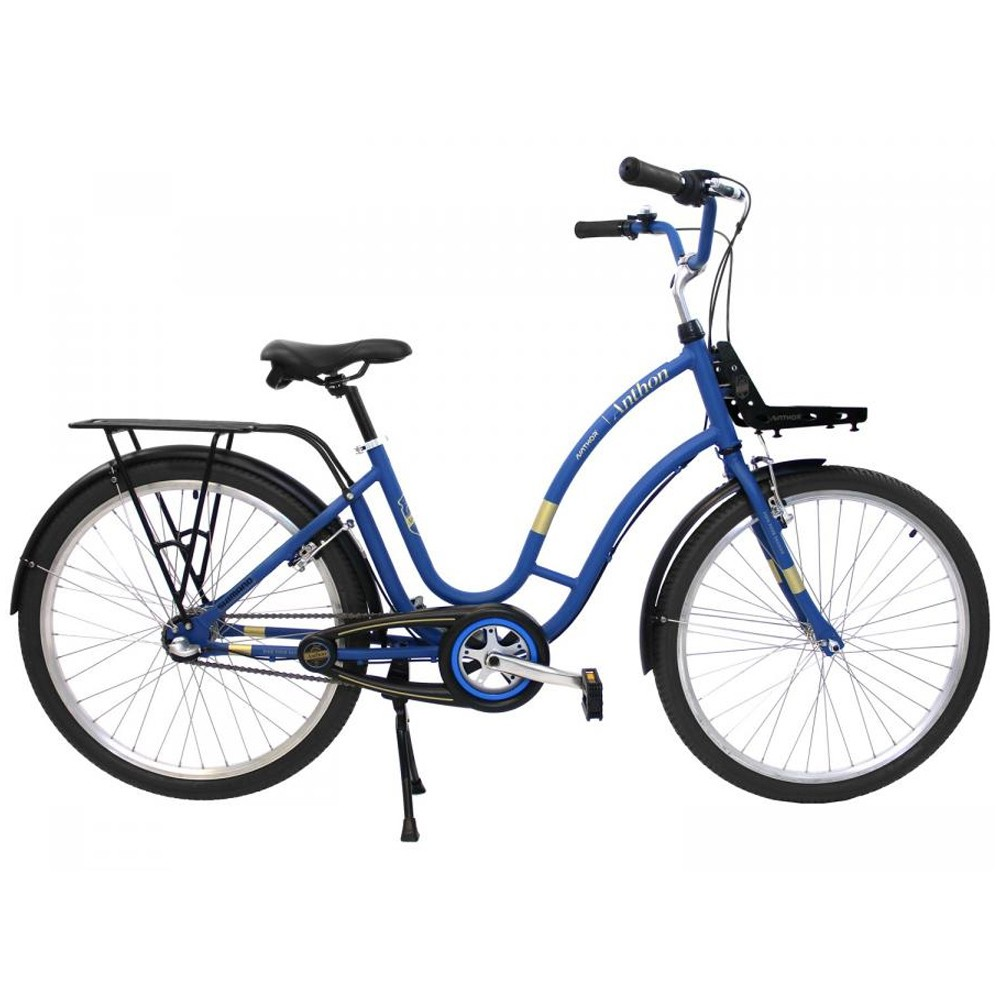 Bicicleta 26 Anthon Nexus 3 velocidades Azul