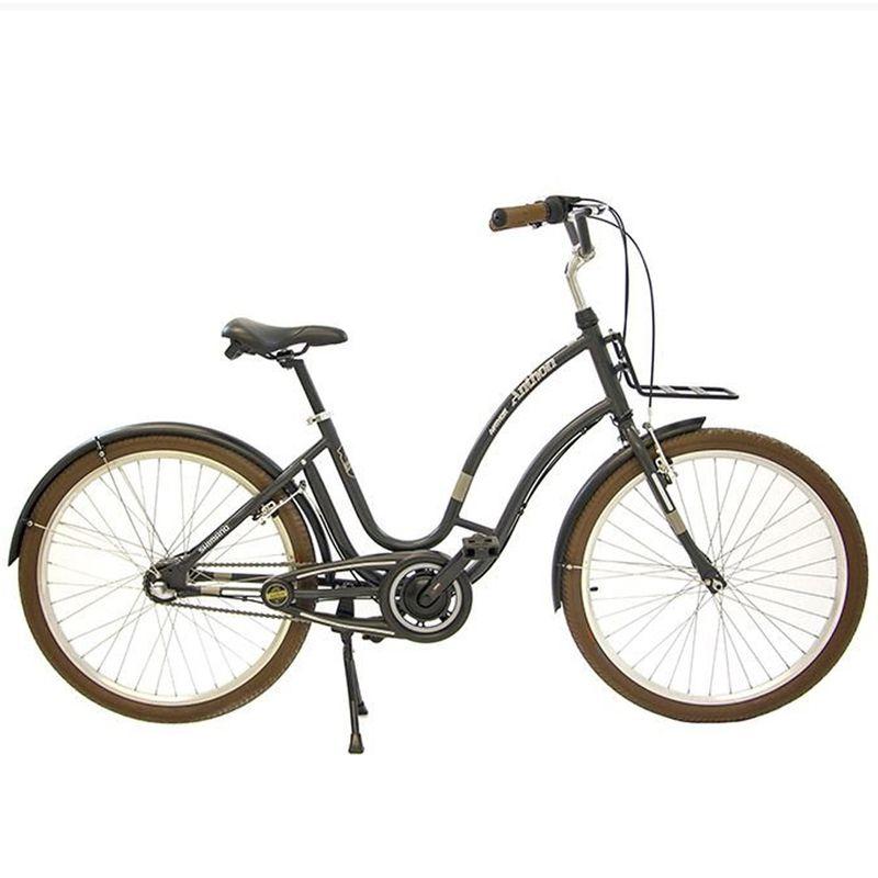 Bicicleta 26 Anthon Nexus 3 velocidades Cinza