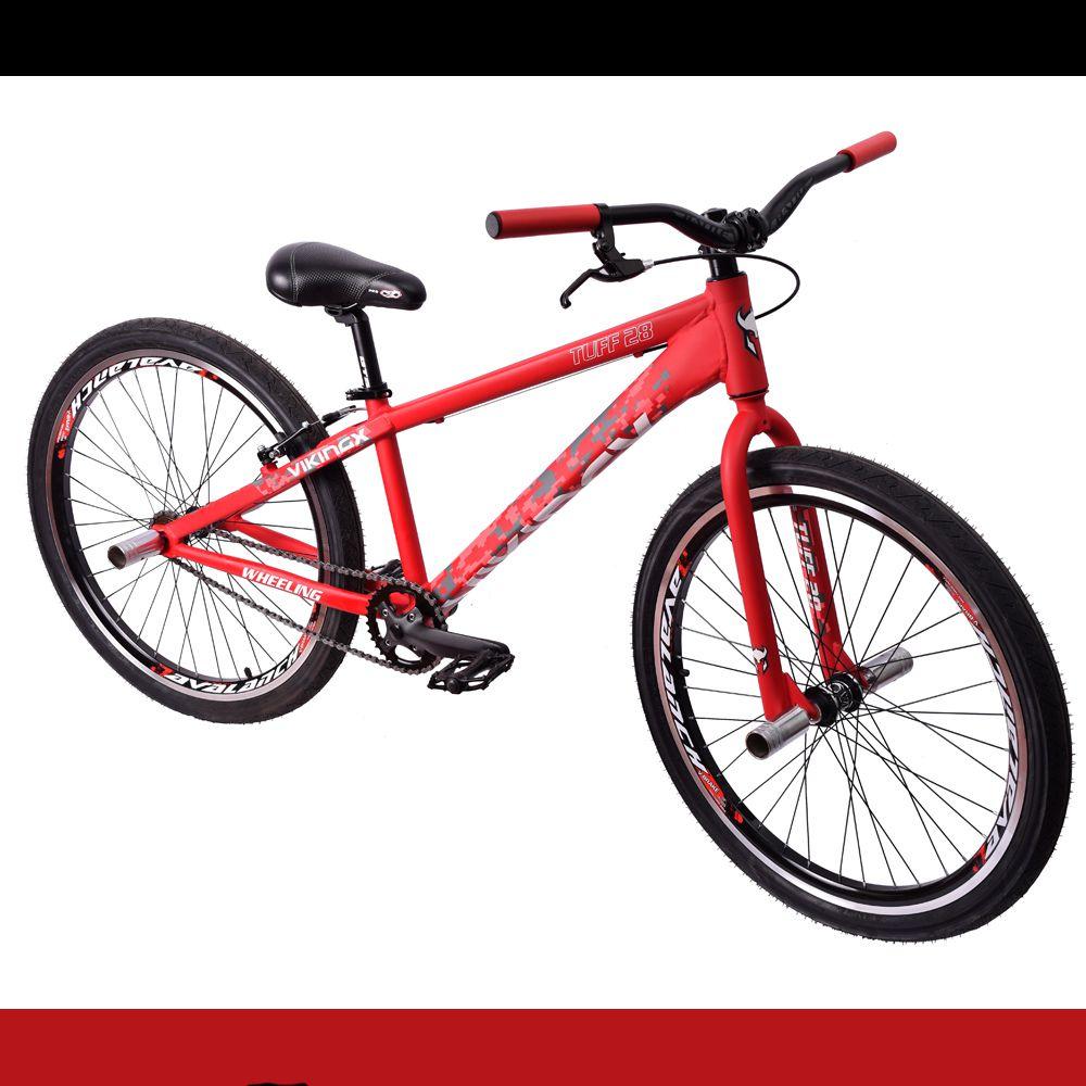 Bicicleta 26 Wheeling Viking Tuff 28 Vermelha