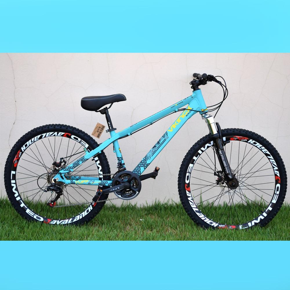 Bicicleta 26Viking Tuff Frerride 21 Marchas Freio Disco Cores