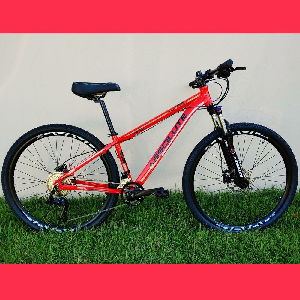 Bicicleta 29 Absolute Nero III 18 Velocidades Vermelho Tamanho 15