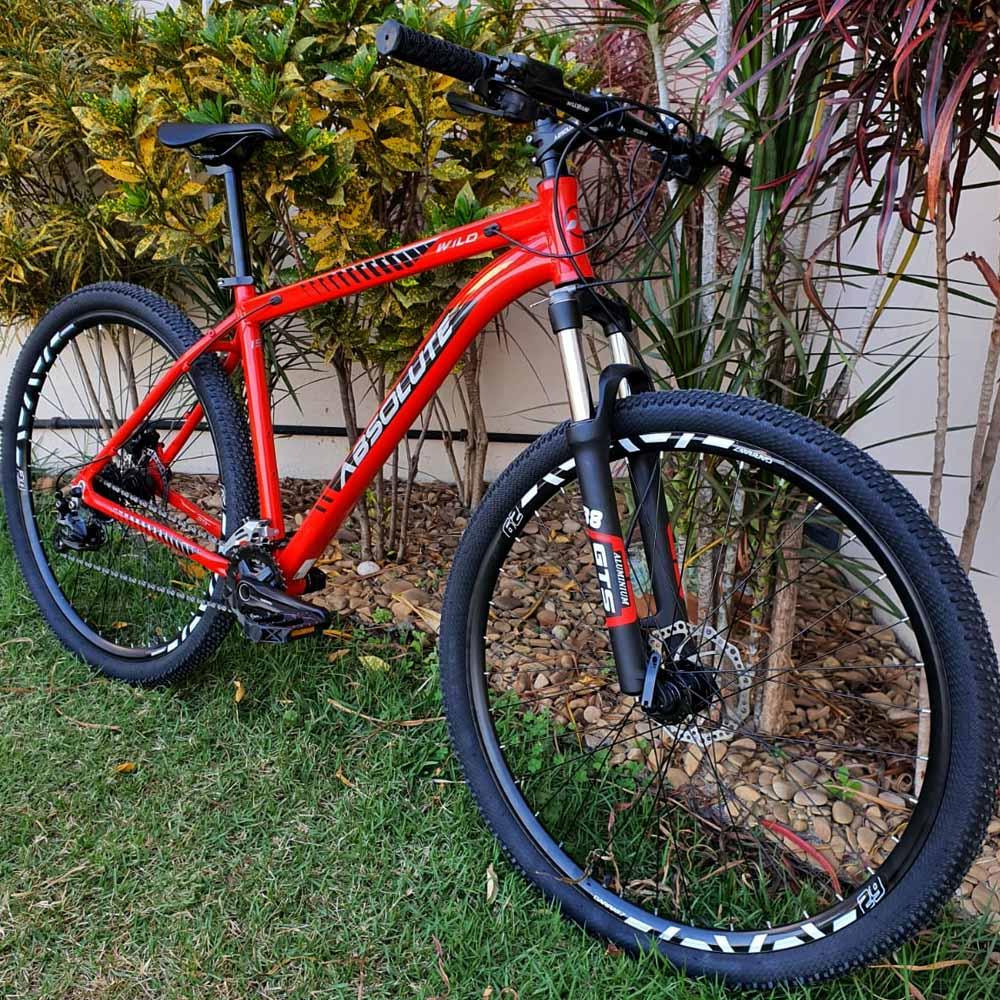 Bicicleta 29 Absolute Wild 18 Velocidades Altus 2021 Suspensão Trava
