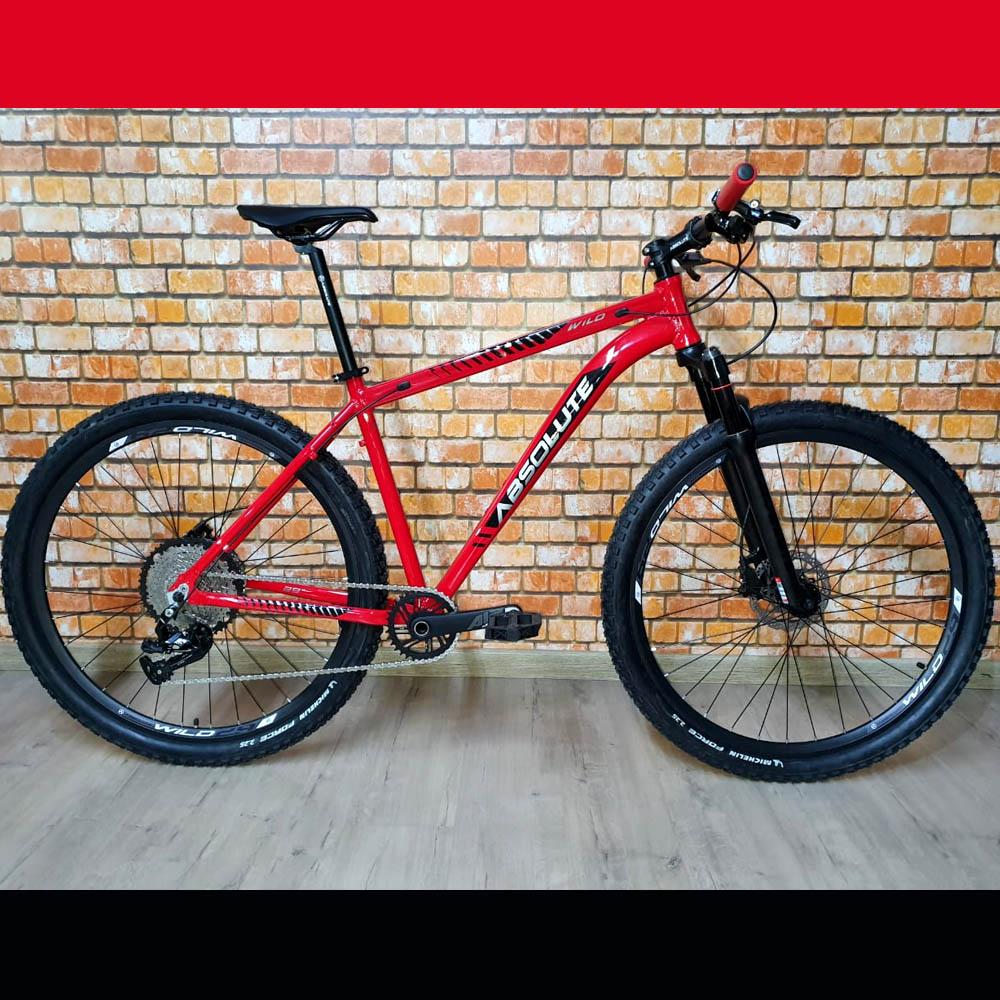 Bicicleta 29 Absolute Wild Prime 1x12 Vermelho Tamanho 17