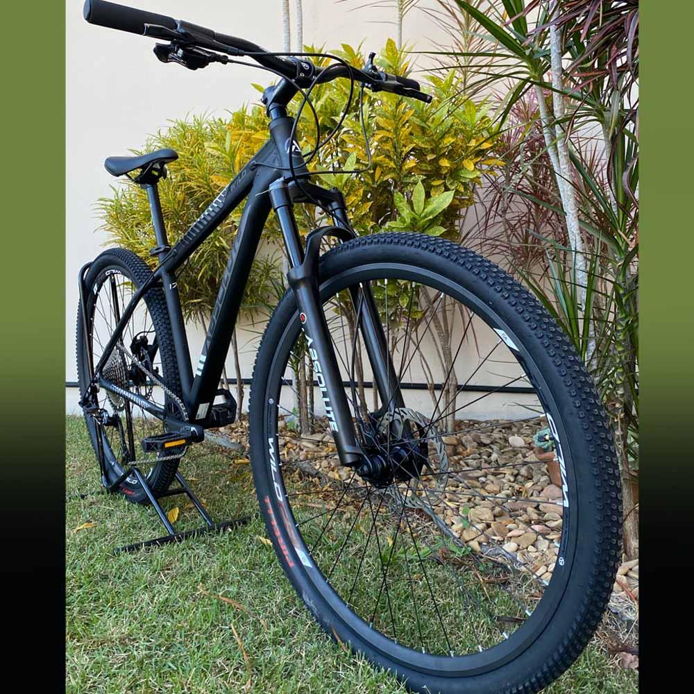 Bicicleta 29 Absolute Wild Start 1x12 Preto e Cinza Tamanho 19