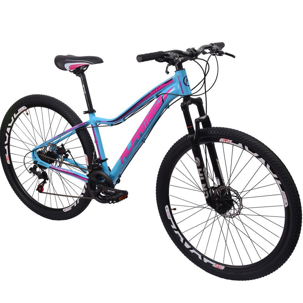 Bicicleta 29 Alfameq Pandora Feminina 21 Marchas tamanho 15