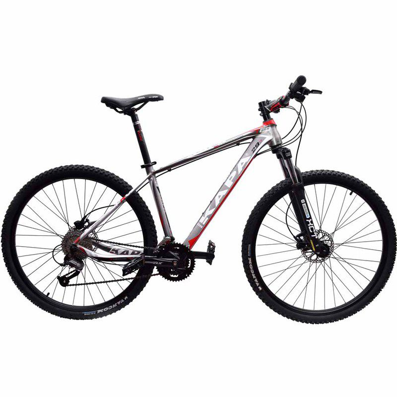 Bicicleta 29 Kapa Bikes T60 Shimano Altus 27V Hidraulico 17.5 Titanium