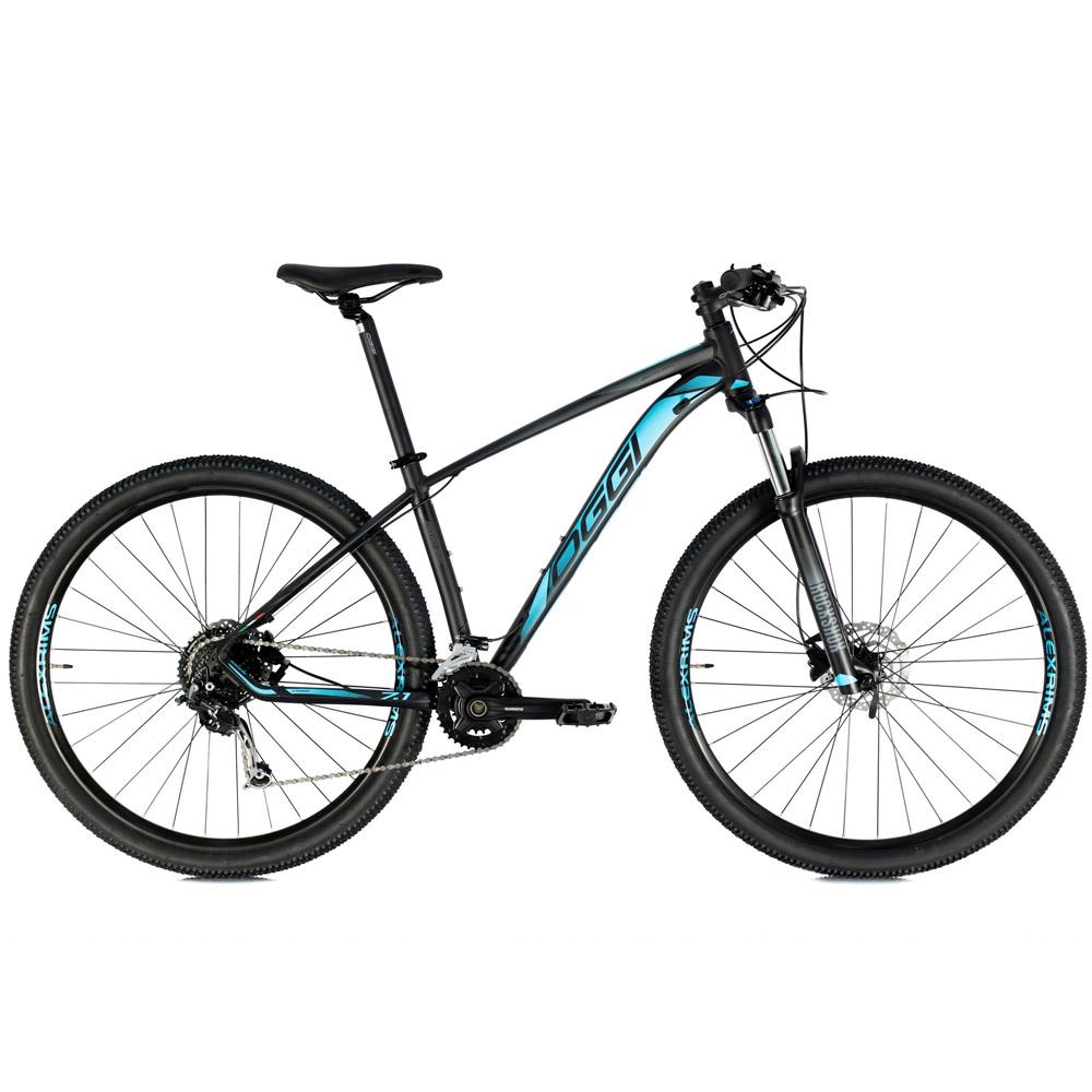 Bicicleta 29 Oggi 7.1 2021 Shimano 18 Velocidades Preto e Azul