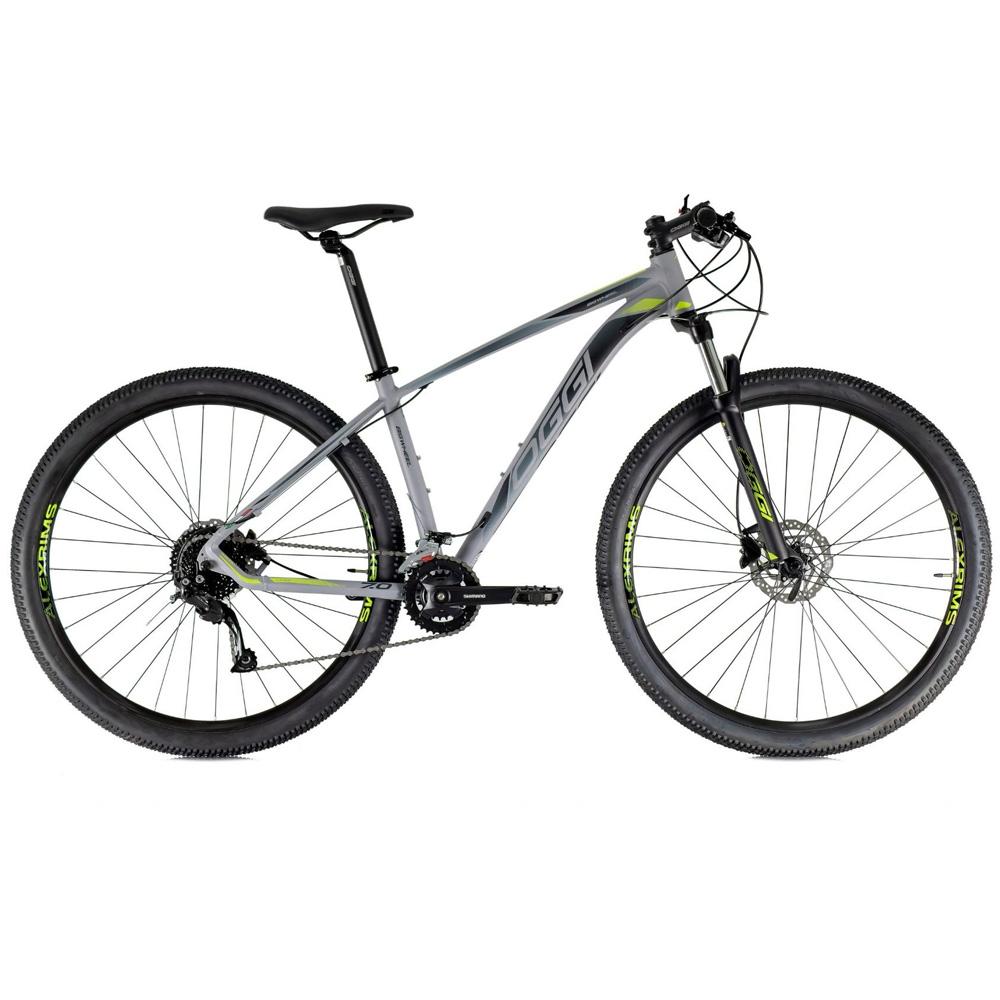 Bicicleta 29 Oggi Big Wheel 7.0 18 Velocidades 2021 Grafite e Preto Tamanho 15