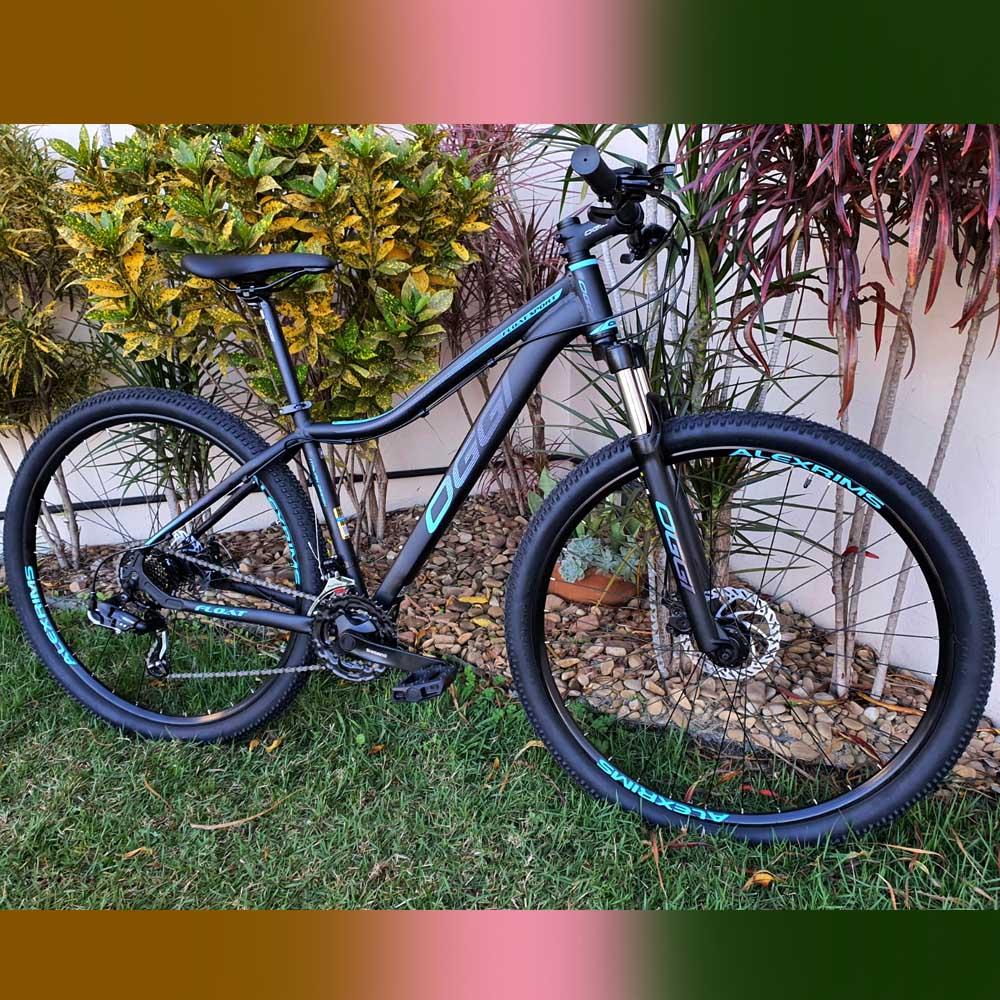 Bicicleta 29 Oggi Float Sport 21 Velocidades Shimano Tiffany/Pink Tam. 15.5