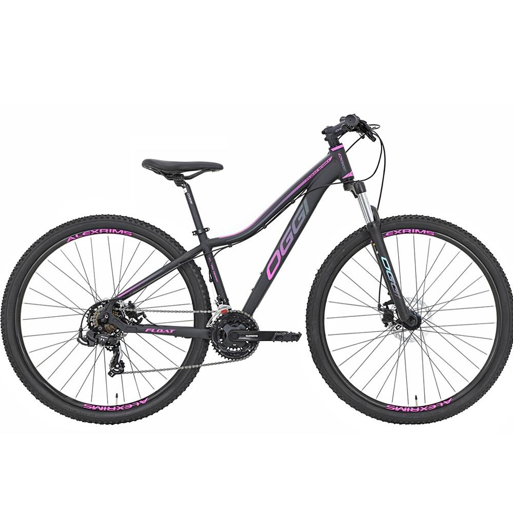 Bicicleta 29 Oggi Float Sport 21 Velocidades Shimano Pink/Tiffany Tam. 15.5