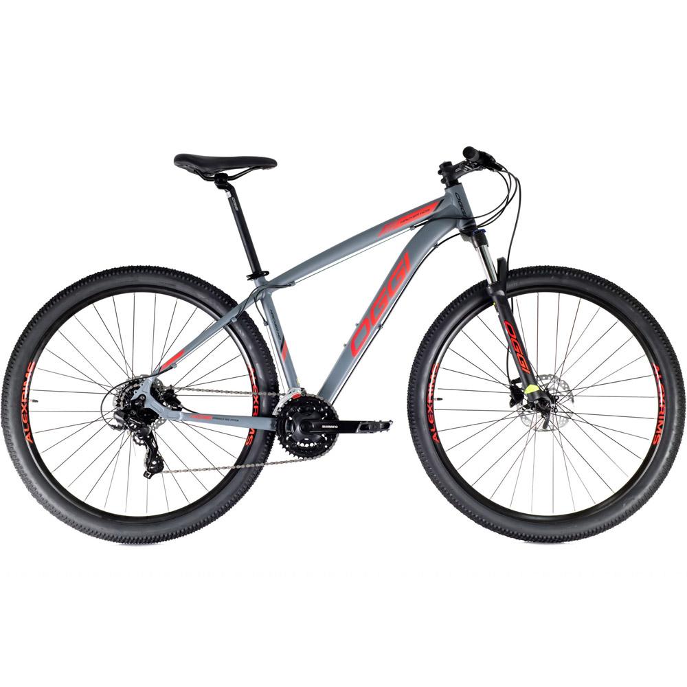 Bicicleta 29 Oggi Hacker HDS Aro 29 Tamanho 19 Grafite e Vermelho