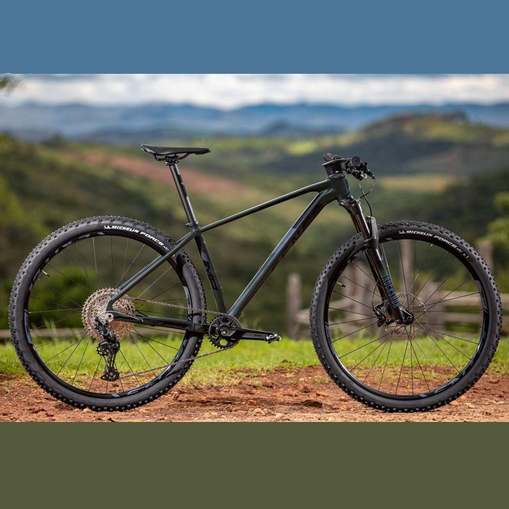 Bicicleta 29 Sense Impact SL 12v 2021/22 Verde e Cinza Tamanho M