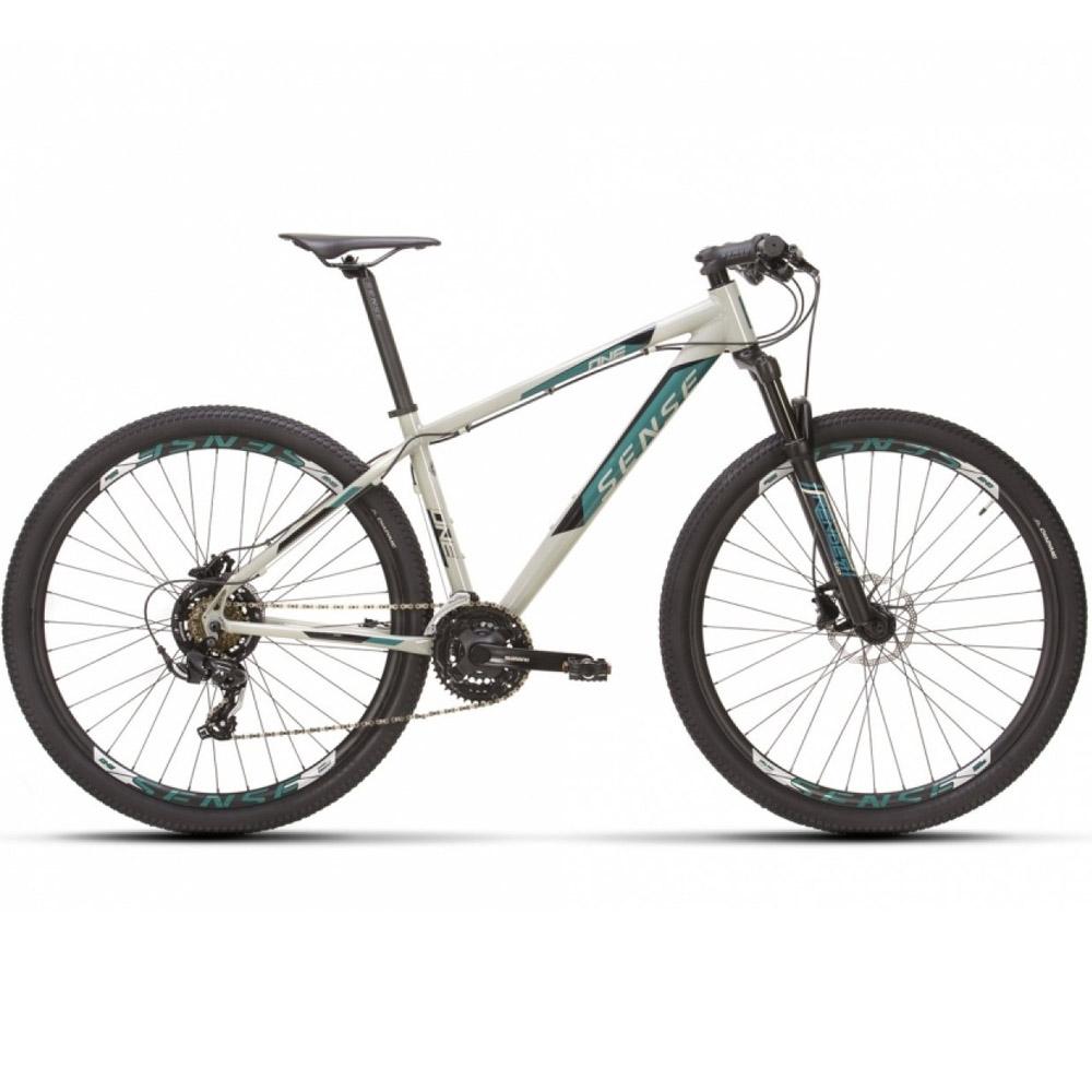 Bicicleta 29 Sense One 2021/22 Aqua e Cinza Tamanho S