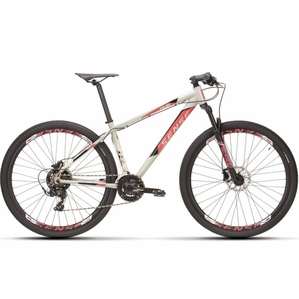 Bicicleta 29 Sense One 2021/22 Cinza e Rosa Tamanho M