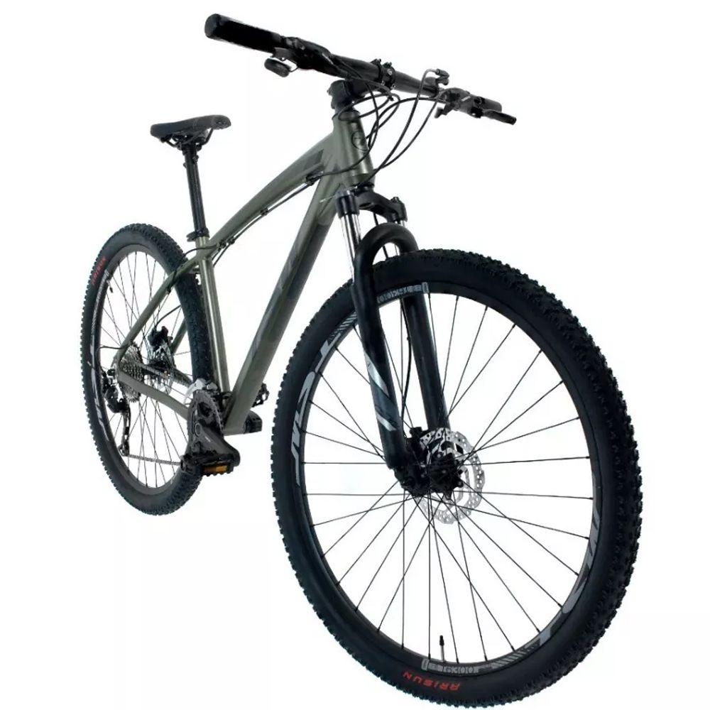 Bicicleta 29 TSW Hunch Shimano Altus 27V Tamanho 17 Verde