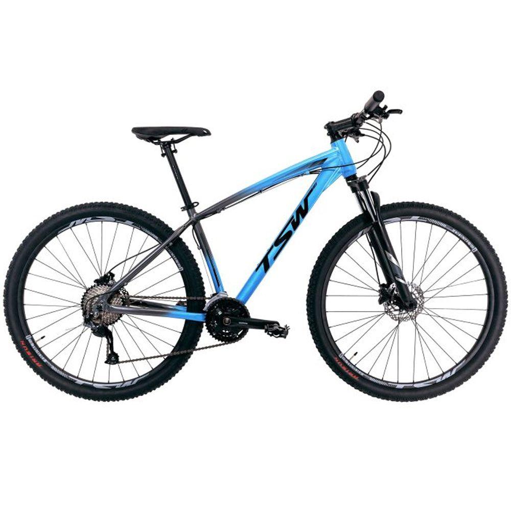Bicicleta 29 TSW Hunch Shimano Altus 27V Tamanho 19 Azul