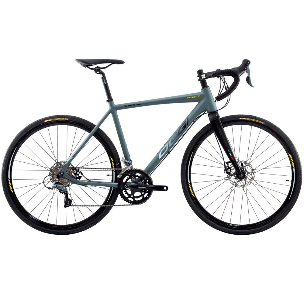 Bicicleta 700 Oggi Velloce Disc 2022 Shimano Claris Grafite/Preto Tam. M