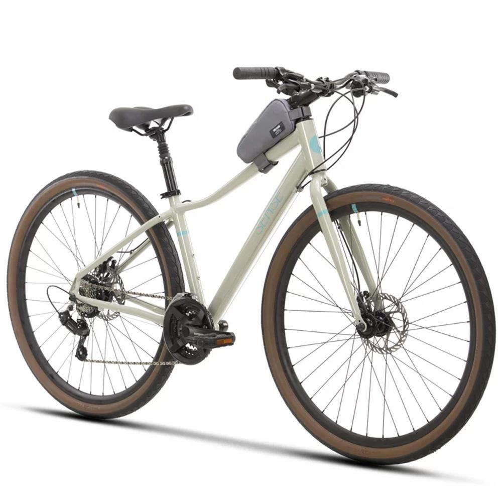 Bicicleta 700 Sense Move Fitness 2021/22 Cinza e Aqua Tamanho S
