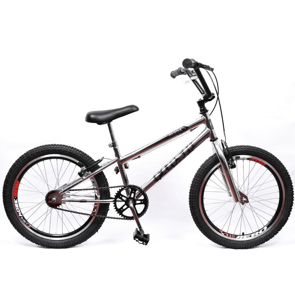 Bicicleta Aro 20 Cross BMX Garra Cromada
