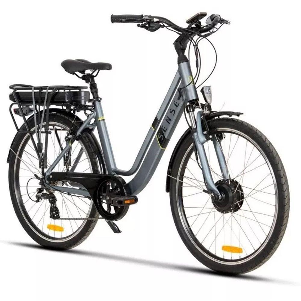 Bicicleta aro 26 Elétrica Sense Breeze Shimano 8 Velocidades