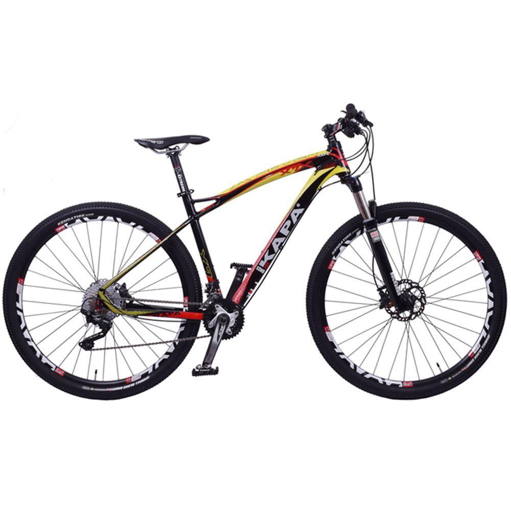 Bicicleta Aro 29 Kapa X7 Shimano Deore SLX e XT 20Velocidades