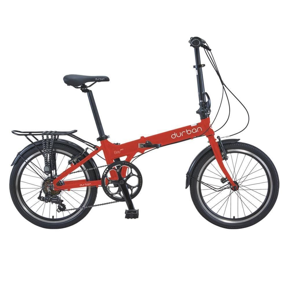 Bicicleta Dobravel Durban Bay Pro 7 Vermelha